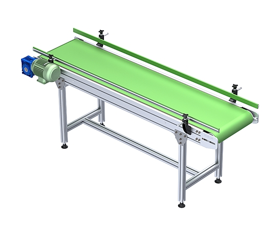 23x127 PVC Belt Straight Conveyors
