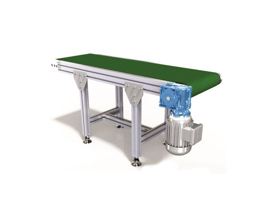 23x75 PVC Belt Straight Conveyors