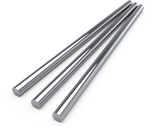 Induction Hardened Shafts - Chrome Plated