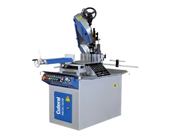 PSM 220-330 DM - Semi Automatic Double Miter Bandsaw Machine