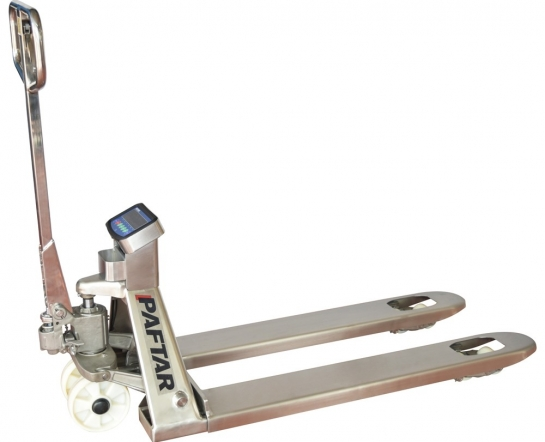 TP25TS Stainless Weighing Pallet Truck